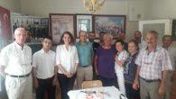 CHP Arifiye İlçeye teşekkür ziyareti