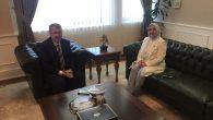 Milletvekil Atabek,Sağlık Bakan Yardımcısı Halil Eldemir'le görüştü.