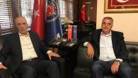 Başkan Toçoğlu,TÜRK-İŞ Genel Başkanı Ergün Atalay'ı ziyaret etti