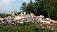 Arifiye Öğretmen Okulunun Lojman ve Hamamı da yıkıldı