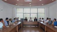 SAÜEAH'da değerlendirme toplantısı yapıldı