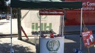 İHH'dan Arifiye'de Kurban Bağışı standı