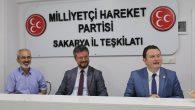 MHP Sakarya İl Teşkilatı bayramlaşma da buluştu