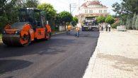 Kirazca'da asfaltlama çalışmaları