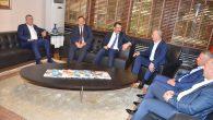 AK PARTİ GENEL BAŞKAN YARDIMCISI ALİ İHSAN YAVUZ'DAN TÜRK-İŞ'E ZİYARET
