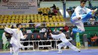 Sakarya'da düzenlenen Türkiye Wushu Şampiyonası nefesleri kesiyor.
