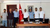 SOSEDD Yönetimi Başkan KARAKULLUKÇU'yu ziyaret etti