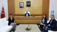 Toçoğlu, BM Mülteciler Yüksek Komiserliği üyeleri ile bir araya geldi.