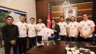 TEKNOFEST'te Dereceye Giren BİRARK Ekibinden Vali Balkanlıoğlu'na Ziyaret