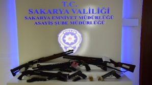 Sakarya'da polis suçlulara göz açtırmıyor