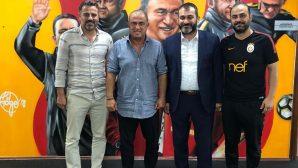 Başkan Ekşi,Galatasaray Hocası Fatih Terim ile görüştü