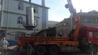 Arifiye Merkez Camii Minaresi yenileniyor