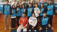 Büyükşehirli karateciler şampiyonaya damga vurdu