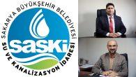 SASKİ'de yeni görevlendirmeler