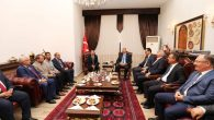 Adalet Bakanı Abdülhamid Gül Valiliği ziyaret etti.