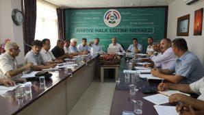 HAYAT BOYU ÖĞRENME KOORDİNASYON TOPLANTISI ARİFİYE' DE YAPILDI