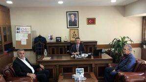 Başkan Toçoğlu Ankara'da,Arifiye'li Yılmaz Çiğdem'i ziyaret etti