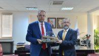 Prof. Dr. Erhan Afyoncu'dan Rektör Savaşan'a Ziyaret