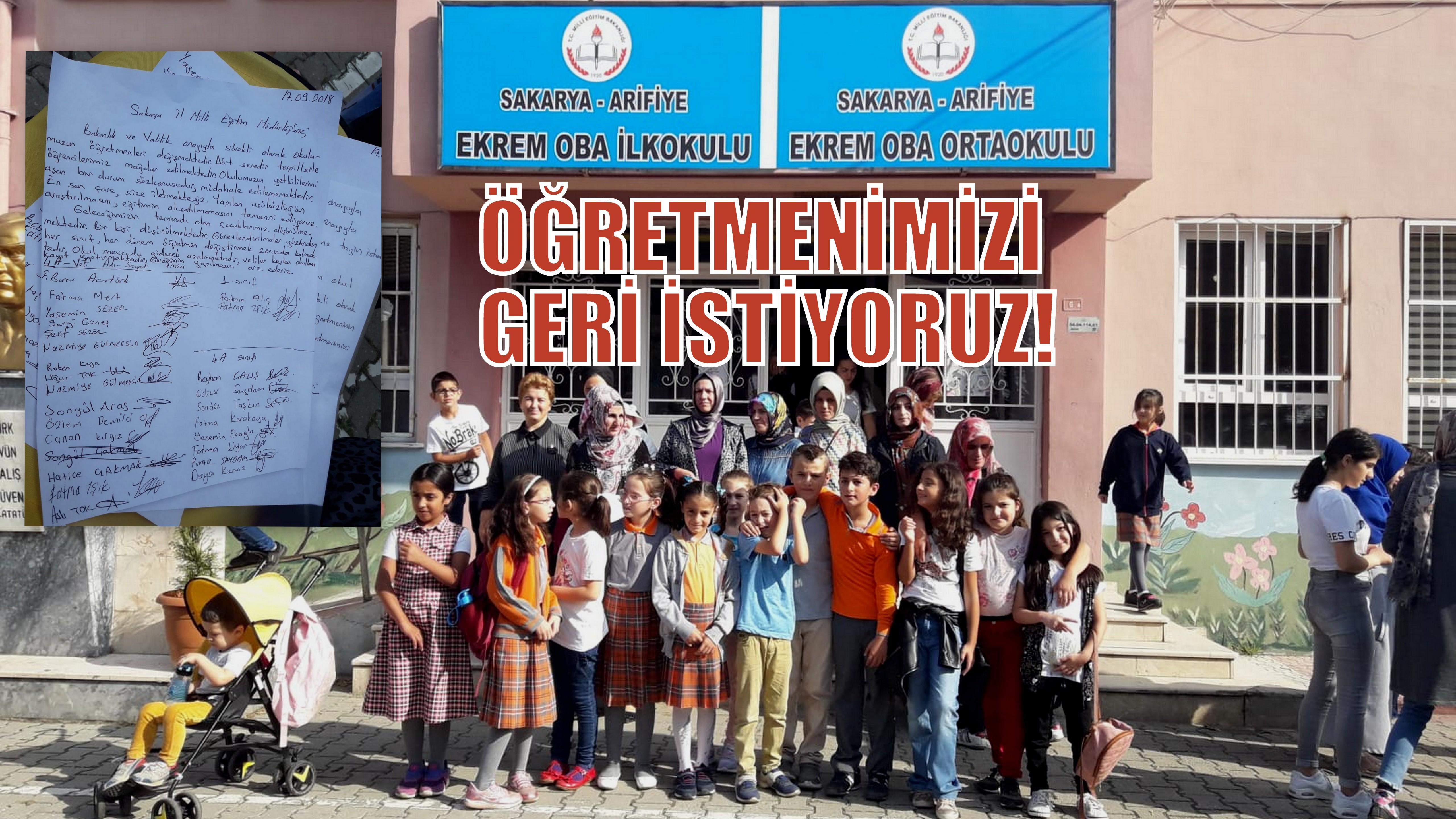 EKREM OBA'DA VELİLERİN ÖĞRETMEN TEPKİSİ!