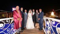 Başkan Karakullukçu Nikahı kıydı,Vali Coş Şahit oldu