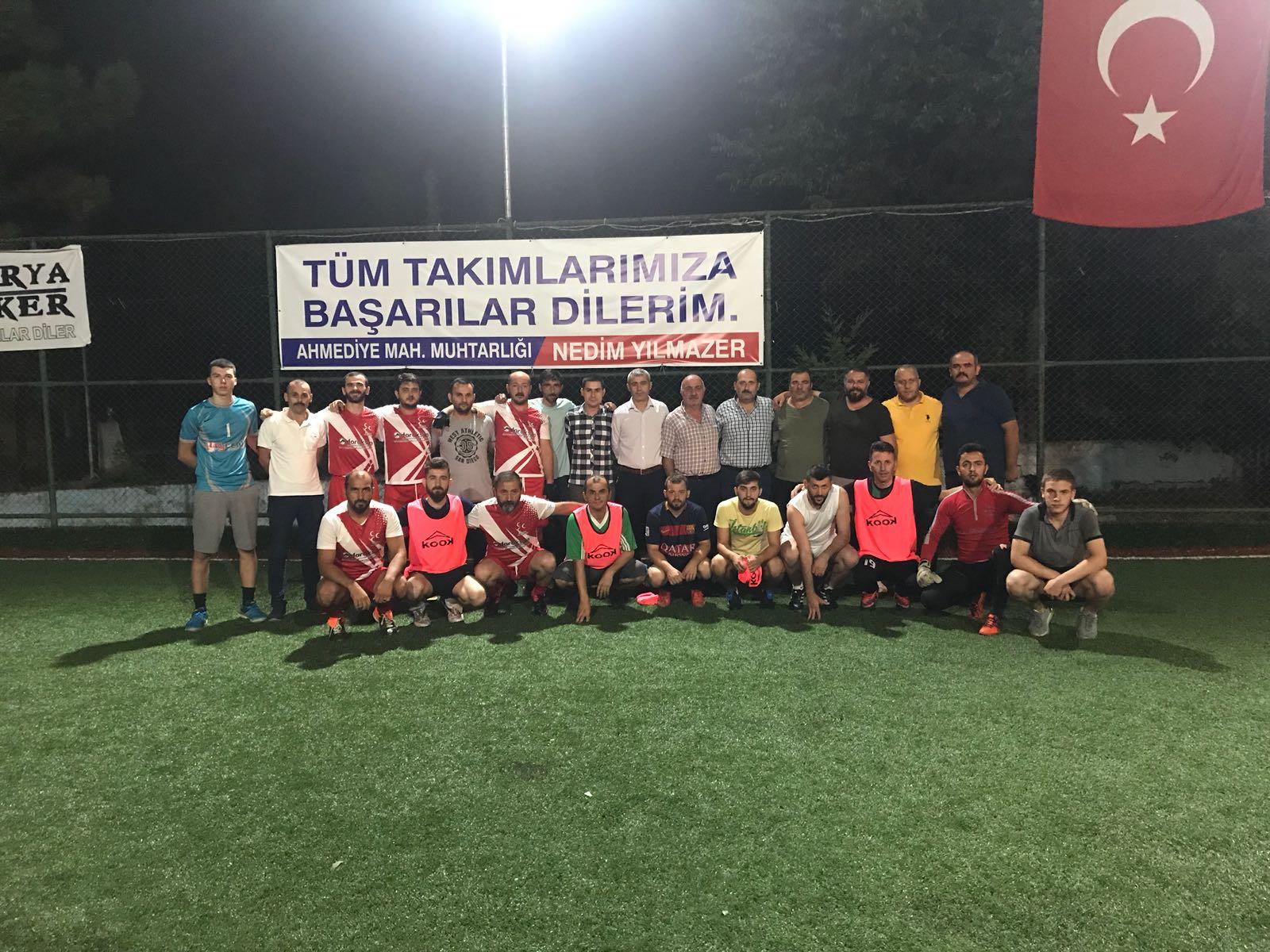 MHP Arifiye'den Ahmediye Mahallesi gençleriyle dostluk maçı
