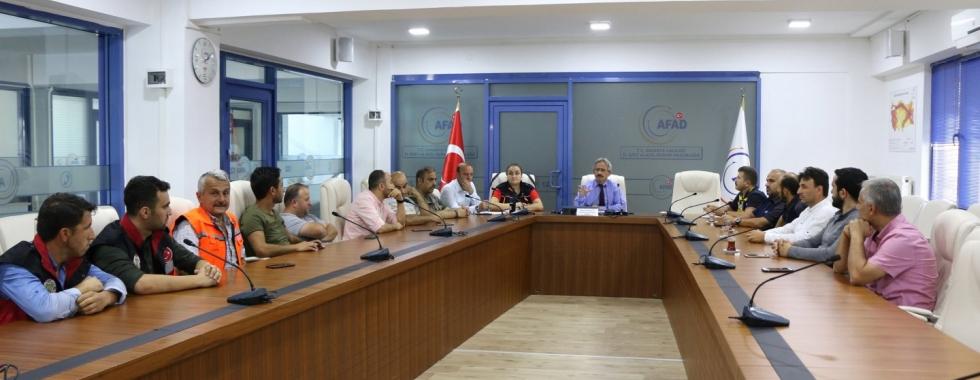 AFAD'dan Dernekler ile koordinasyon toplantısı