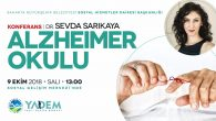 'Alzheimer Okulu' SGM'de konuşulacak
