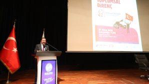 """SAÜ'de """"15 Temmuz ve Toplumsal Direniş"""" Adlı Konferans Düzenlendi"""