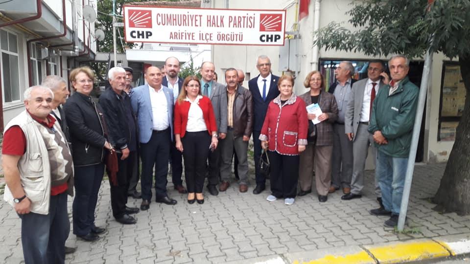CHP Arifiye'de yerel seçim istişaresi