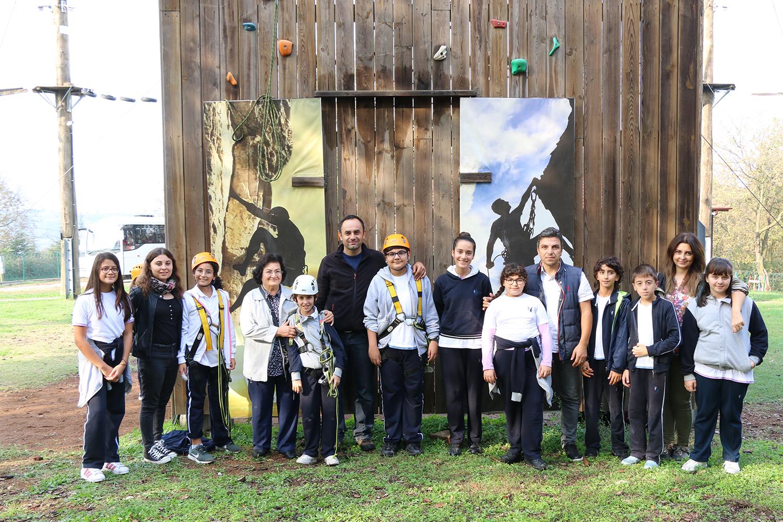Bilim Kulübü öğrencileri Macera Park'a misafir oldu