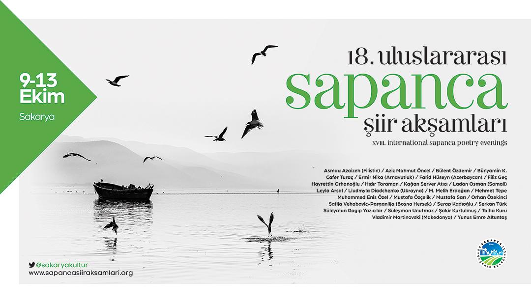 18. Uluslararası Sapanca Şiir Akşamları başlıyor