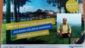 Arifiye Mezunu Servet Somuncuoğlu adına Karacabey'de park açılıyor