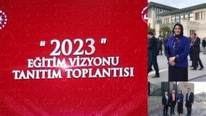Fazilet DURMUŞ,MEB 2023 Eğitim Vizyon Belgesi Toplantısında