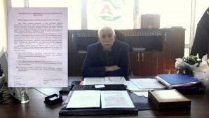 Arifiye İlçe Milli Eğitim Şube Müdürü ERMAN,' Kan Örnekleri Alınması Bakanlık projesi'