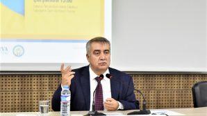 SAÜ Akademik ve Sosyal Gelişim Merkezi (SASGEM) yeni dönem konferansları başladı.