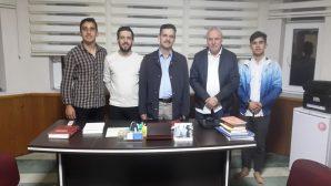 Arifiye Ak Gençlikten Din Görevlileri Haftasında İmam Hatib İsmail Yayla ' ya ziyaret