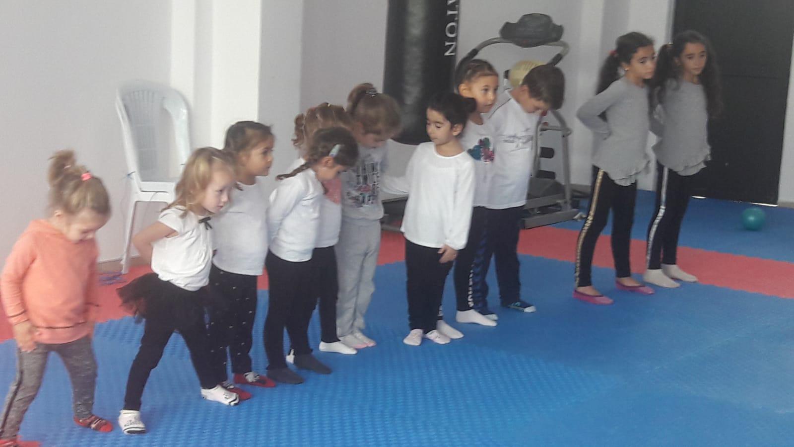 Arifiye'de Cimnastik çalışmaları
