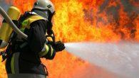 Arifiye'de yangın