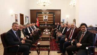 Vali Nayir'e Ziyaretler Devam Ediyor