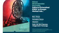 Sinemaseverler SAÜ Kongre Merkezi'nde buluşacak