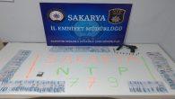 Sakarya Narkotik 779 adet extacy ele geçirdi