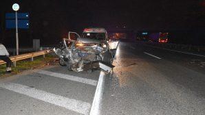 Arifiye'de Kaza 3 yaralı