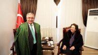 Afgan Prensesten Vali Ahmet Hamdi Nayir'a Ziyaret