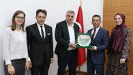 Arifiye'li Baro Başkanı BURAK'tan Büyükşehir Belediye Başkanı TOÇOĞLU'na ziyaret