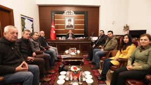 Vali Ahmet Hamdi Nayir'e Ziyaretler Sürüyor