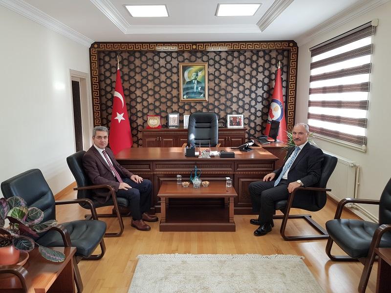 Sakarya BAM Başkanı Koçer'den İlçe Kaymakamımıza ziyaret.