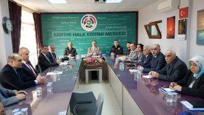 Arifiye İlçe İdare Şube Başkanları Toplantısı Yapıldı.