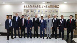 BARO BAŞKANI BURAK'A,YOĞUN TEBRİK ZİYARETLERİ DEVAM EDİYOR