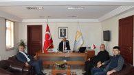 Eski Başkanlardan,Belediye Başkanı KARAKULLUKÇU'ya ziyaret