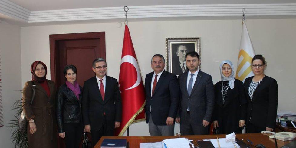 Arifiye Bekir Sıtkı'dan Başkan Karakullukçu'ya ziyaret